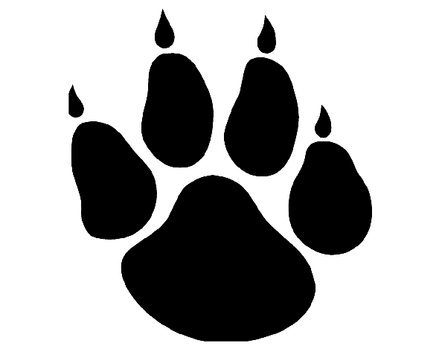 Paw Print clipart