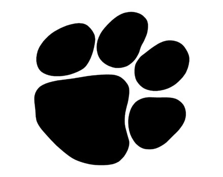 Go back gt gallery for gt wildcat paw print image