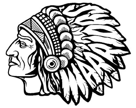 Pin Warrior Head Logo on Pinterest