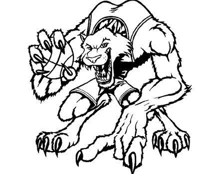 wildcat coloring page - pencil kentucky coloring pages
